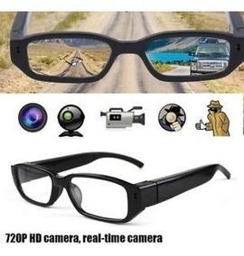 Óculos Espião Com Câmera Hd - Filma E Tira Foto+cartão 32gb