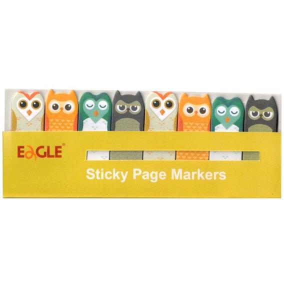 Marcadores De Páginas - Eagle - Corujas