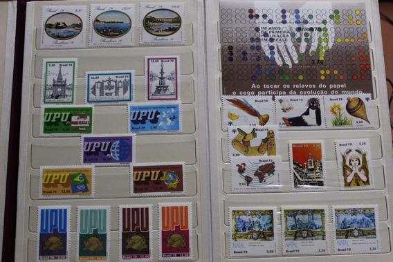 Coleção Anual Dos Correios Ano 1979
