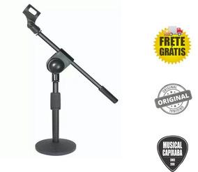 Pedestal De Mesa Para Microfone Modelo Smart Ts08