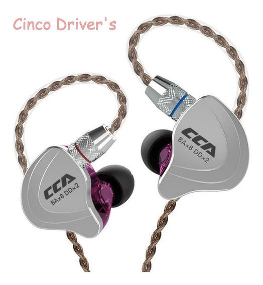 Fone In Ear Cca C10 - Cinco Driver