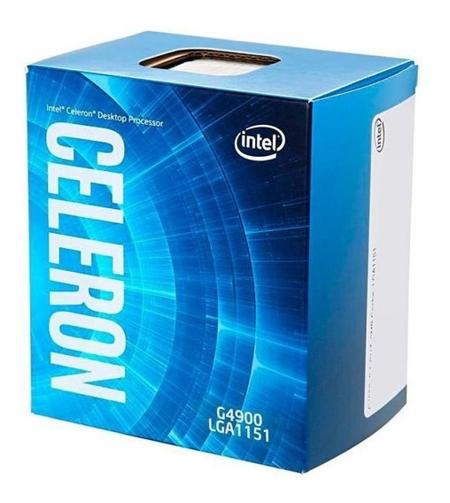 Processador Intel Celeron G4900 Dual Core De 3.1ghz