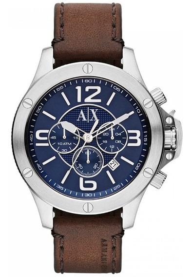 Relógio Masculino Armani Exchange Analogico Ax1505/0an Prata