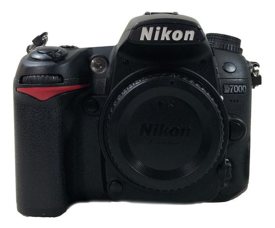 Camera Nikon Corpo D7000 Promoçao Envio Hoje Lojista