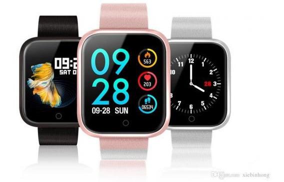 Smartwatch Relógio Digital Masculino P70 Dourado