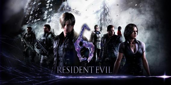 Resident Evil 6 + 2 Jogos (mídia Física ) Pc - Dvd