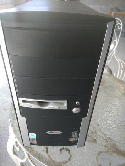 Gabinete Usado Megaware Intel Dual Core E5800 Placa Ddr3