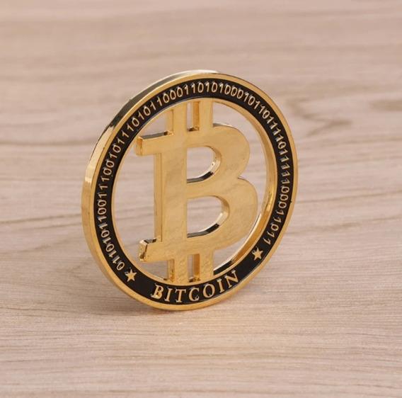 Moeda Física Bitcoin Modelo Vazado