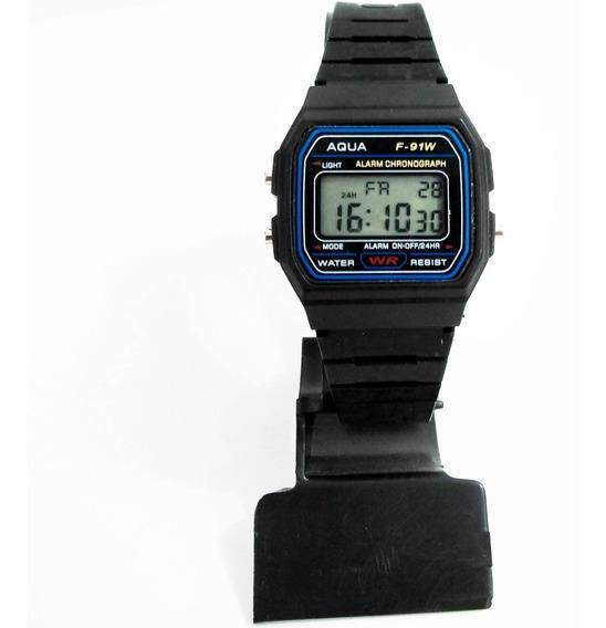 Kit Com 2 Relógios Aqua ( Resistente À Água ) Atacado!!!