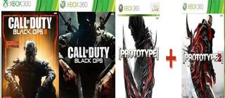 Juegos Xbox 360 , Call Of Duty Black Ops+prototype ¡oferta!