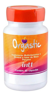 Suplemento Vitamínico Orgastic - 60 Cápsulas - Intt