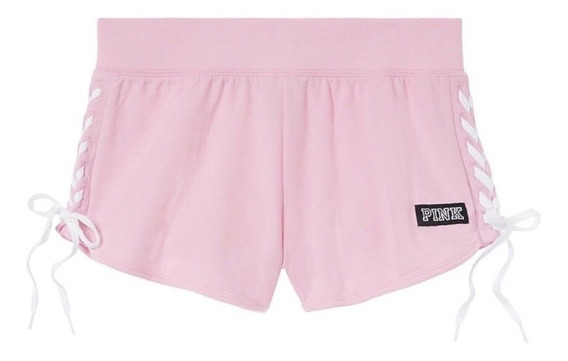 Short Victorias Secret Pink Lace Up Original Eeuu