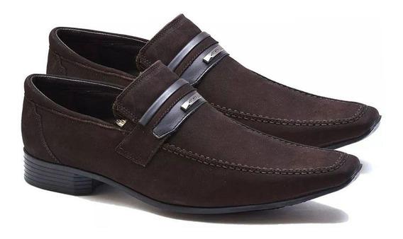 Sapato Casual Masculino Jota Pe Nobuck 50734