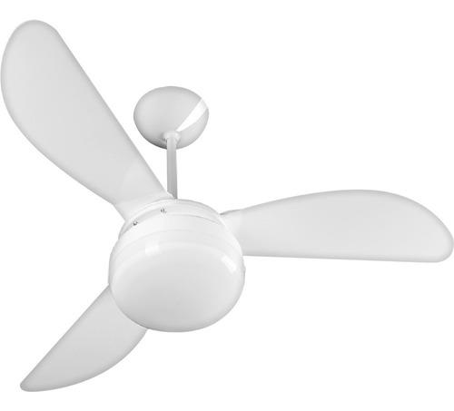 Imagem 1 de 5 de Ventilador De Teto Ventisol Fênix Branco Premium - 110/127v
