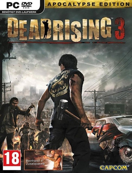 Dead Rising 3 Apocalypse Edition Pc - Steam Key (envio Já)