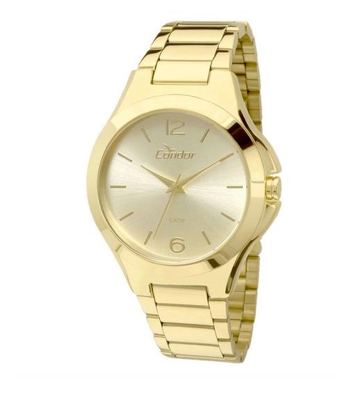Relógio Condor Feminino Dourado Co2035kok4x