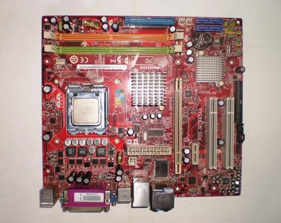 Placa Mãe Positivo Pos-mi945aa + Espelho + Processador