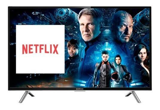 Smart Tv Led 32 Hitachi Hd Nuevo Modelo 10 ( Netflix)