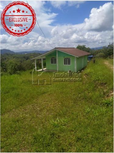 Chácara Com 2 Dormitórios À Venda Com 20112m² Por R$ 220.000,00 No Bairro Centro - Campo Magro / Pr - 257