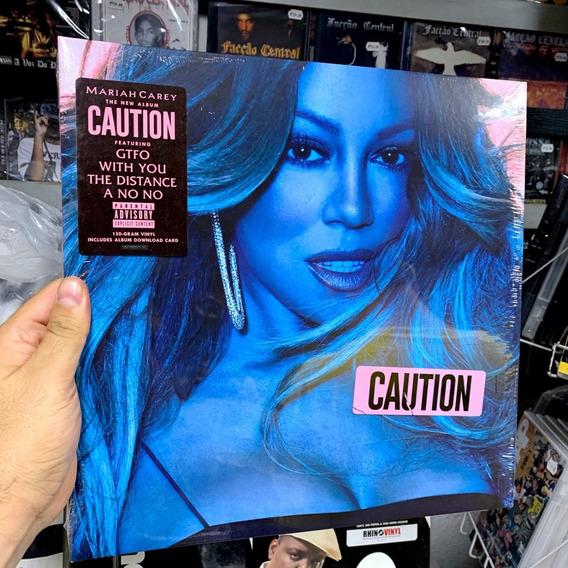Lp Mariah Carey - Caution Vinyl Importado Lacrado Pronta Ent