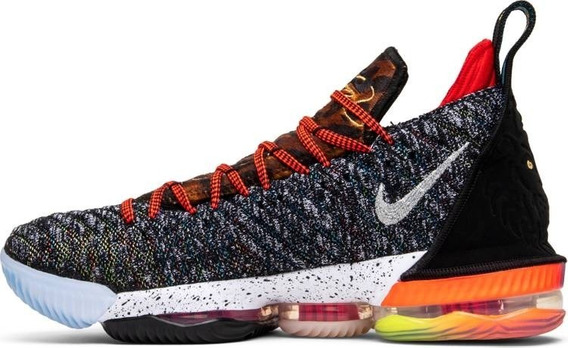 Tênis Nike Lebron 16 What The - Multi Cores