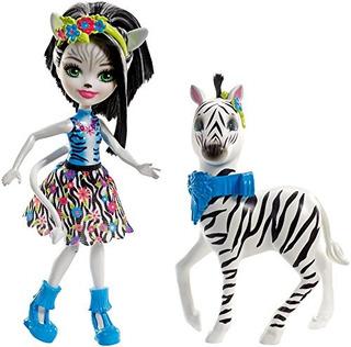 Enchantimals Zelena Zebra Doll Y Hoofette