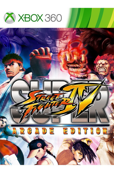 Super Street Fighter Iv Original Mídia Digital