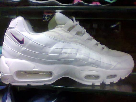 Tenis Nike Air Max 95 Creme E Preto Nº38 Ao 43 Original