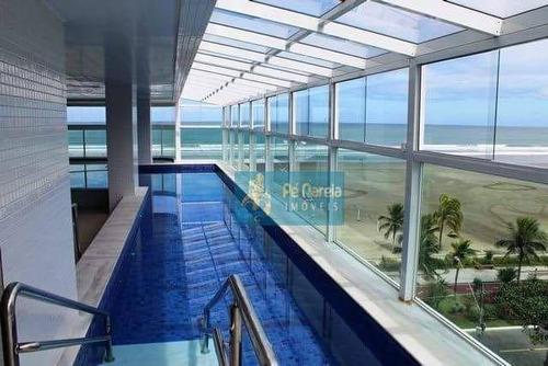 Imagem 1 de 30 de Apartamento Com 3 Dormitórios À Venda, 142 M² Por R$ 1.100.000 - Canto Do Forte - Praia Grande/sp - Ap0913