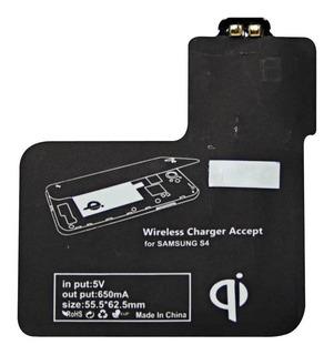 Adaptador Qi Carregamento Sem Fio - Samsung S4