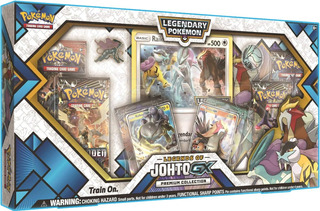 Pokemon Legends Of Johto Gx Premium Collection