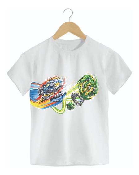 Camiseta Infantil Beyblade Mod02