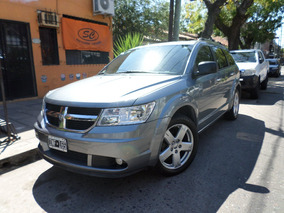 Dodge Journey 2.7 Rt At (3 Filas) Dvd Techo Cuero Gris 2010