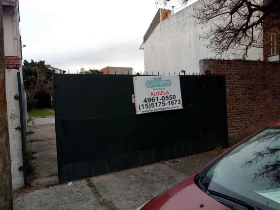 Amplio Lote En Zona De Buenos Accesos. Ideal Cochera