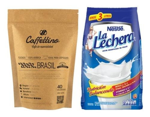 Imagen 1 de 1 de Combo Recarga: Café Brasil + Leche