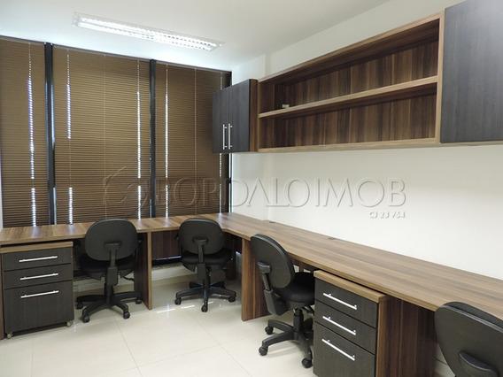 Sala Toda Mobiliada, Com Vaga De Garagem - Villa63568