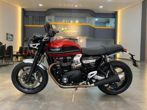 Triumph - Speed Twin 1200/com 1.200 Km -oportunidade! (faby)