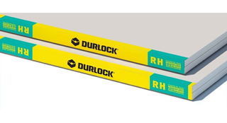 Placa Durlock 12.5 Mm Resistente Anti Humedad Verde