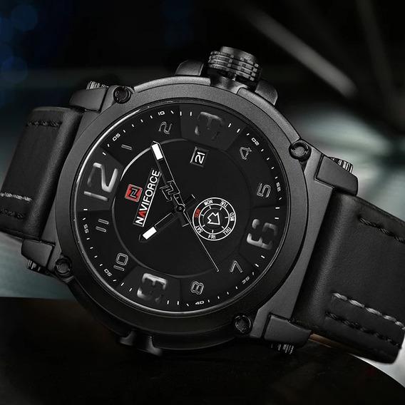 Relógio Naviforce Analógico Masculino Design De Luxo