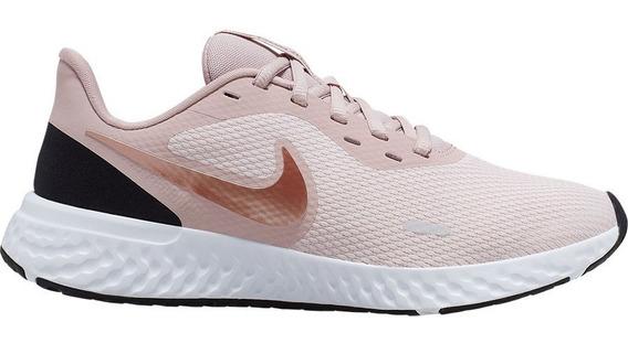 Zapatillas Nike Revolution 5 Mujer Running Nuevas Bq3207-600