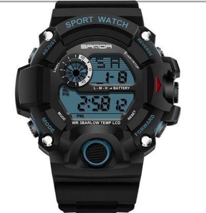 Relógio Militar Sanda S-shock Modelo 326 Prova D Agua