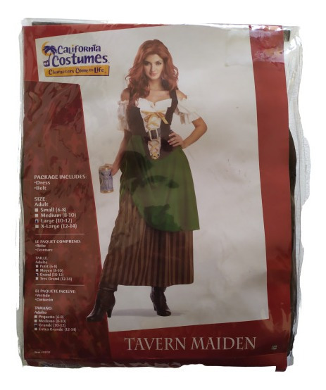 Disfraz Mujer Taberna