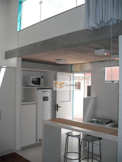Apartamento Com 1 Dormitório Para Alugar, 45 M² Por R$ 2.000,00/mês - Barão Geraldo - Campinas/sp - Ap0756
