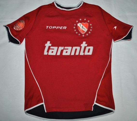 Camiseta De Independiente, Topper. 2004. Niños