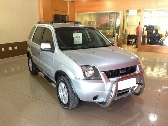 Ford Ecosport 2.0 Xlt 16v Gasolina 4p Manual 2006 Prata