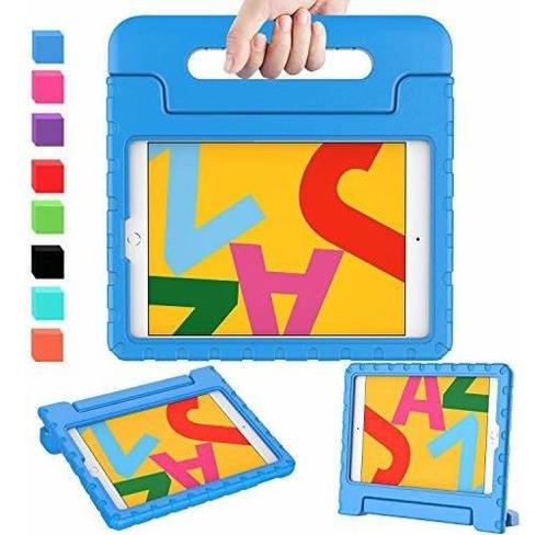 Imagen 1 de 8 de Funda Para Niños Avawo iPad 10.2 2019, Funda Para iPad De 7
