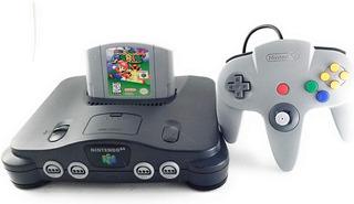 Consola Nintendo 64 Mario 64 1 Control Envio Gratis.