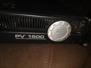 Amplificador Pv 1500 Peavey