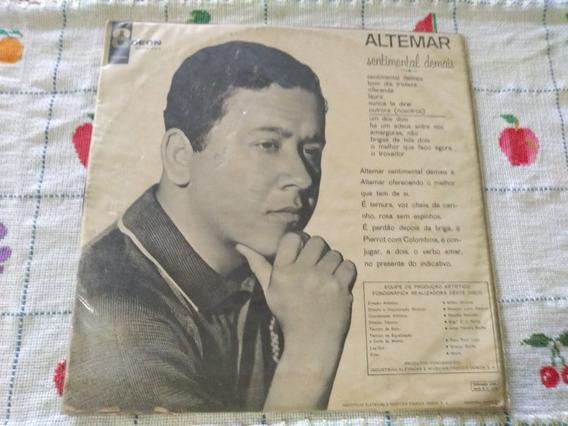 Lp Vinil Altemar Dutra Sentimental Demais 1965