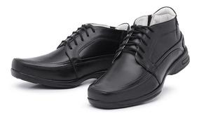 Sapato Social Masculino Sola Borracha Cadarço Frete Grátis